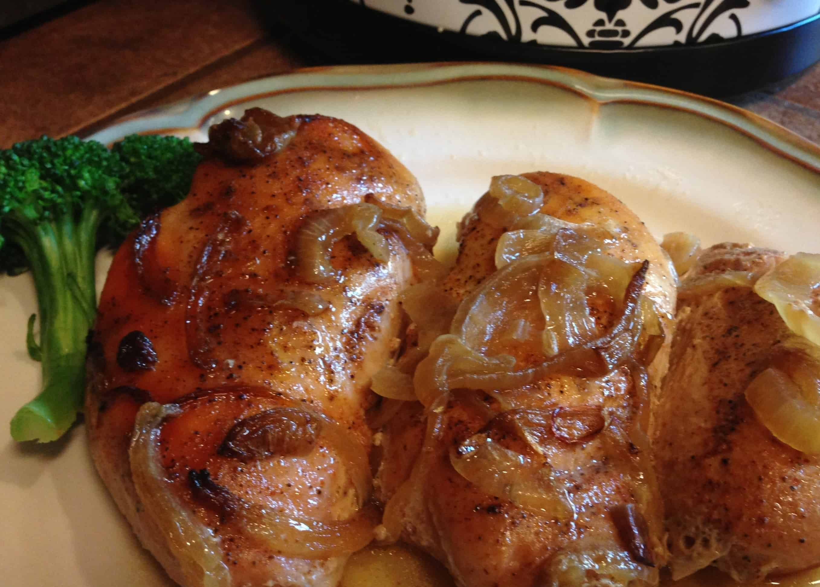 Gluten free baked chicken in the crock-pot
