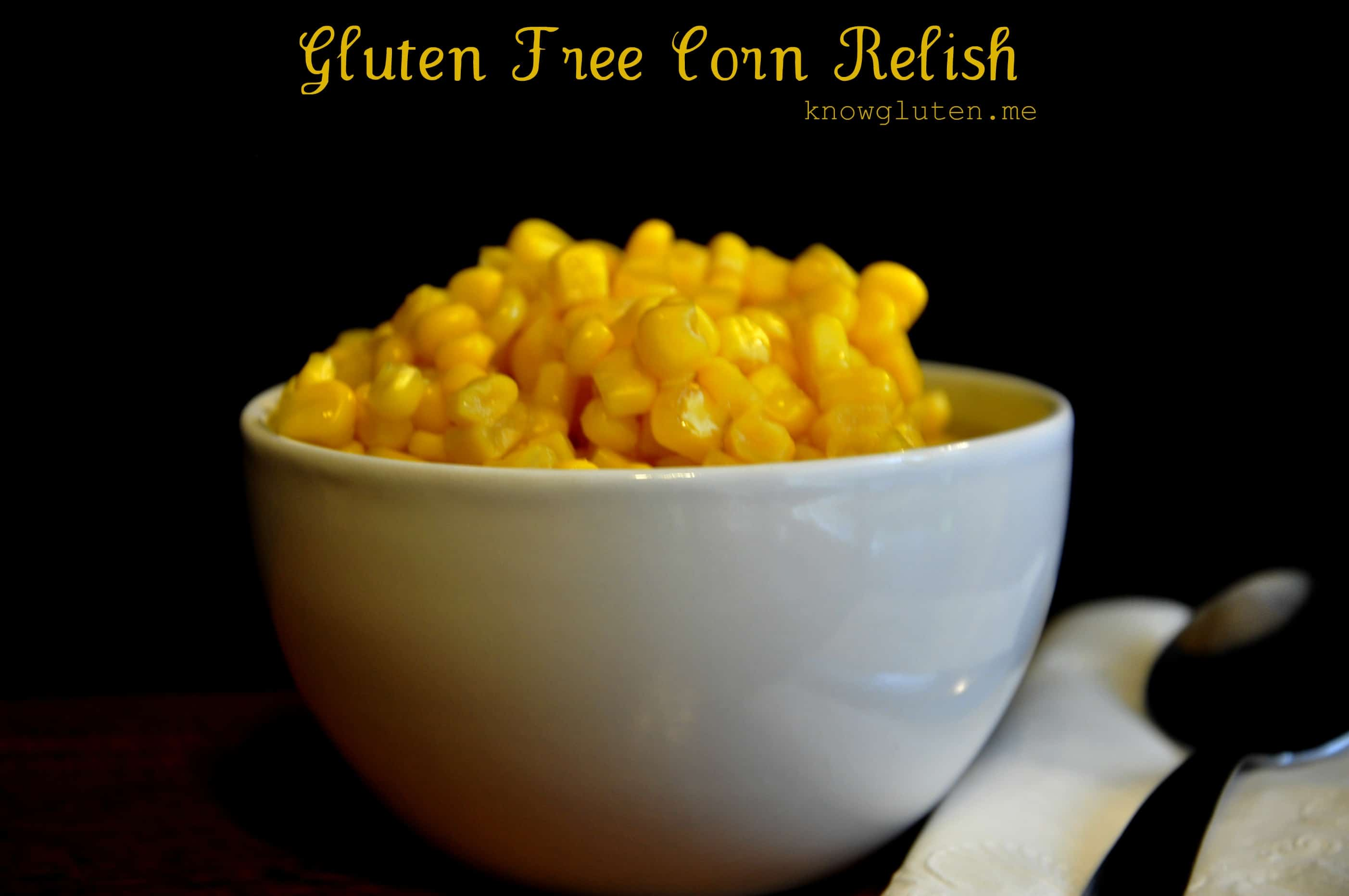 Gluten Free Corn Relish {click the picture to get the recipe}