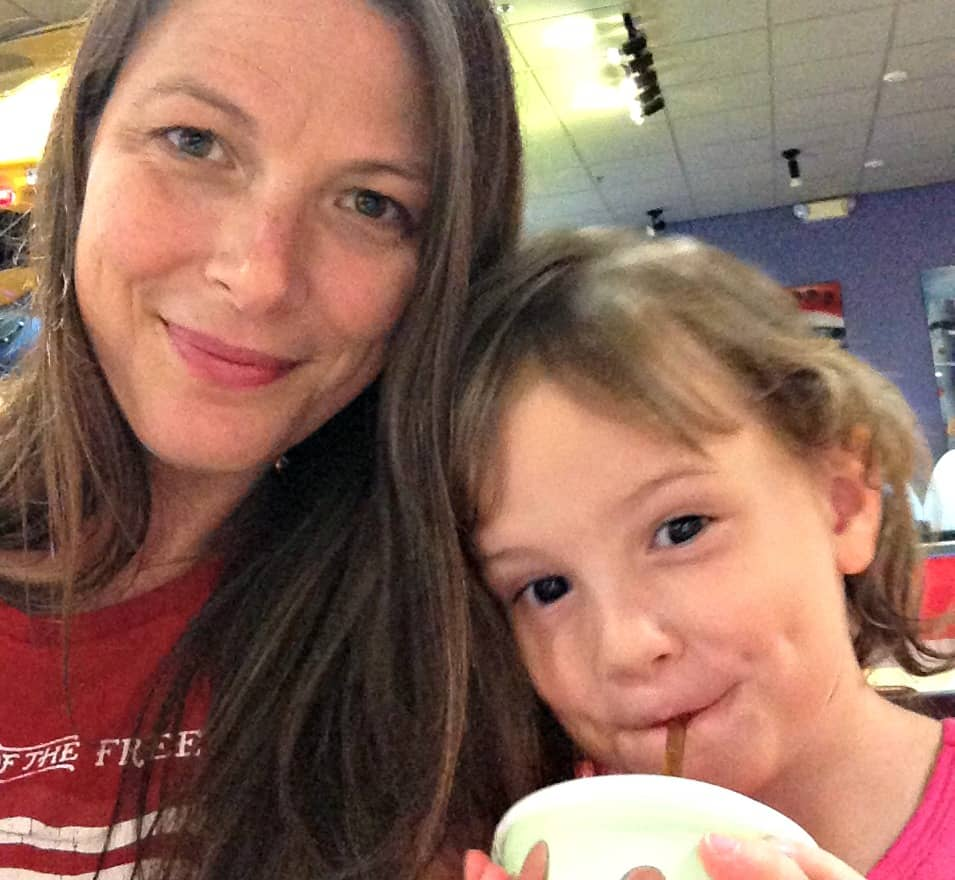 Dag and Me at chuck e cheese from knowgluten.me