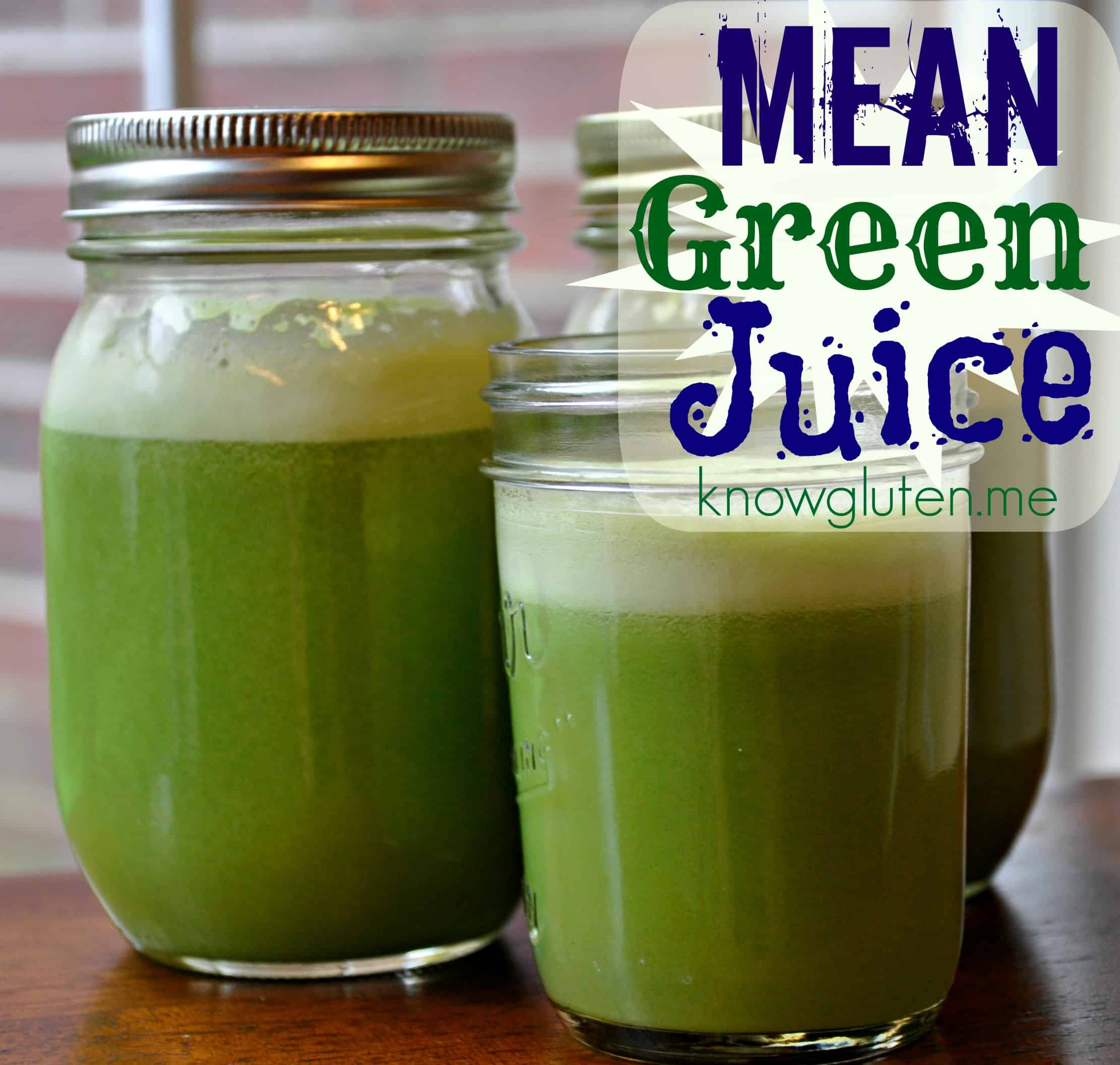 Mean Green Juice from knowgluten.me