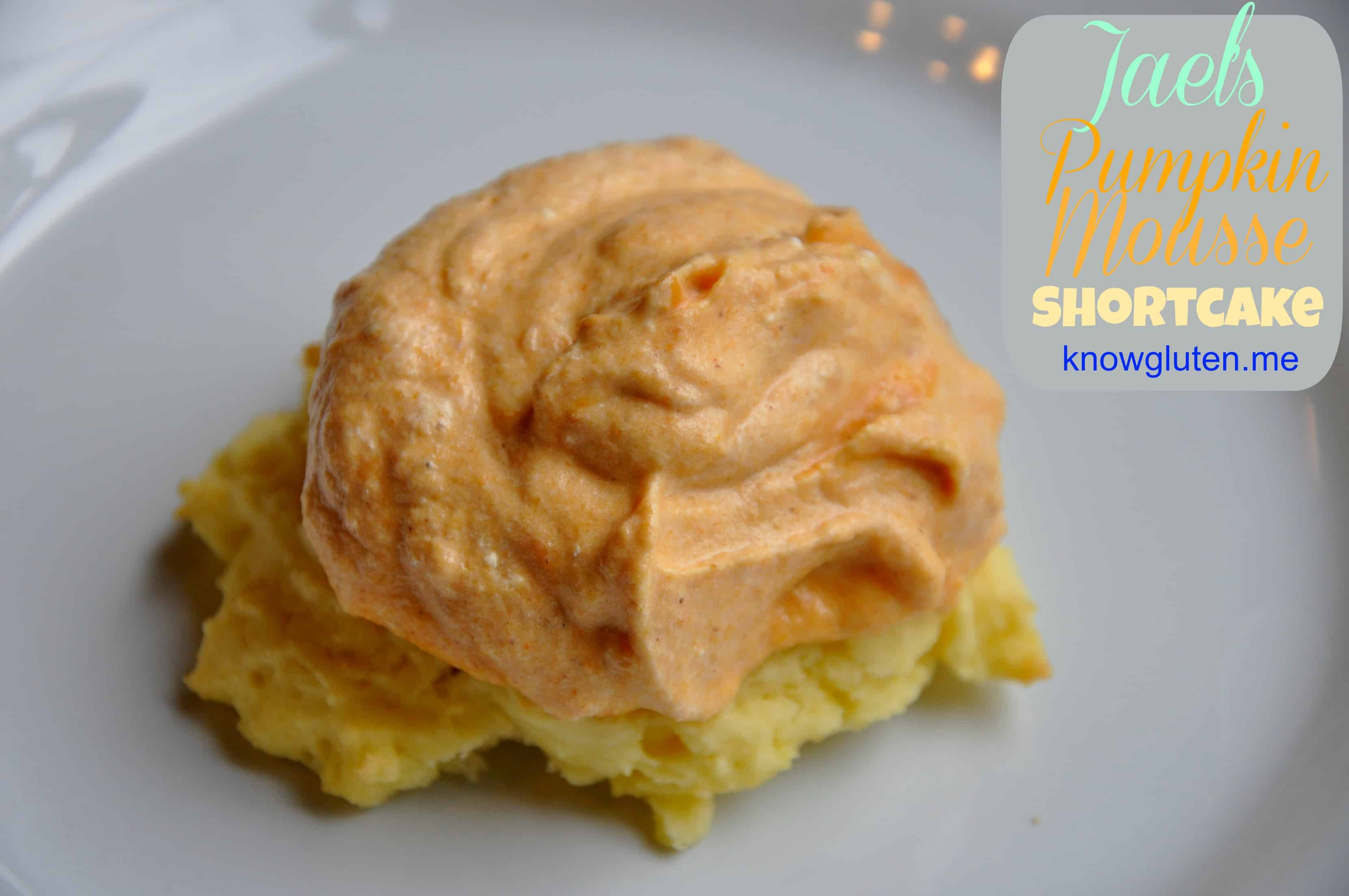 Gluten Free Pumpkin Mousse Shortcake from knowgluten.me