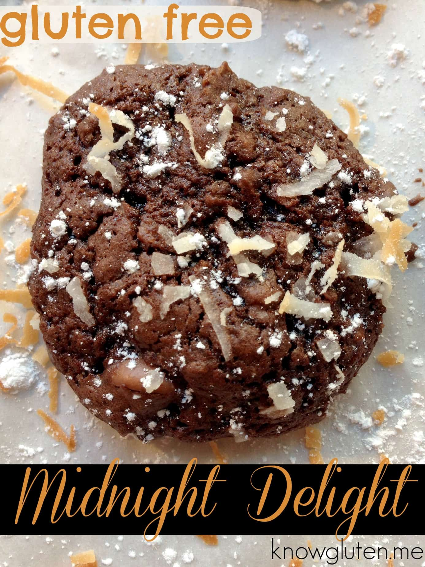 gluten free midnight delight Christmas cookies from knowgluten.me