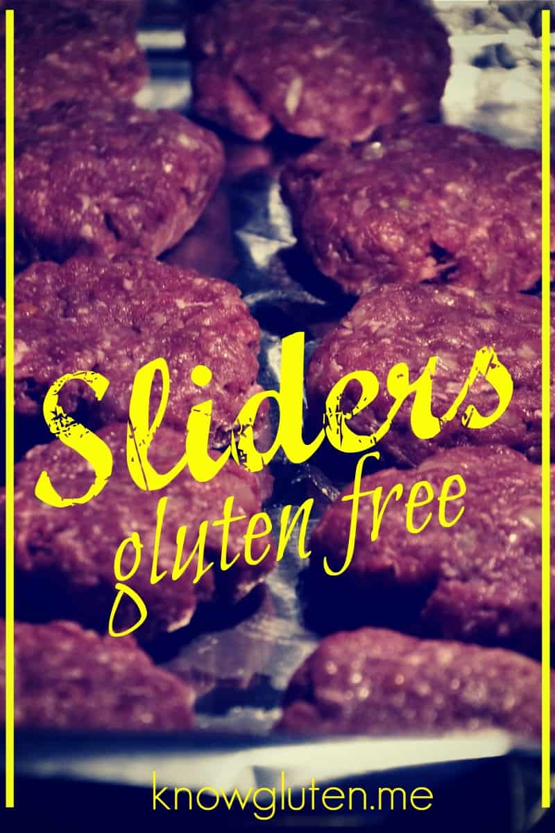 Easy gluten free sliders (meatballs) from knowgluten.me