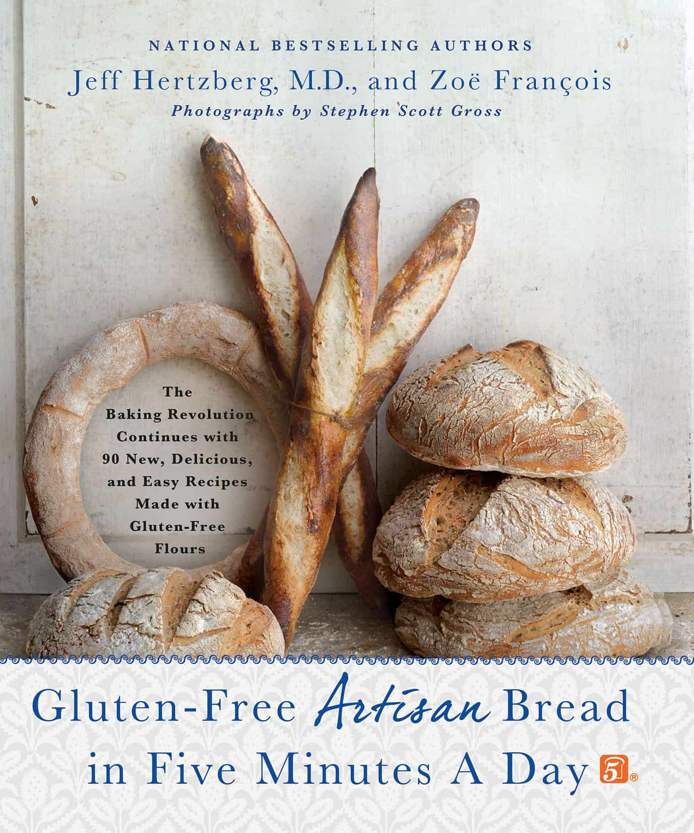Gluten Free Artisan Bread in Five Minutes Cookbook Review